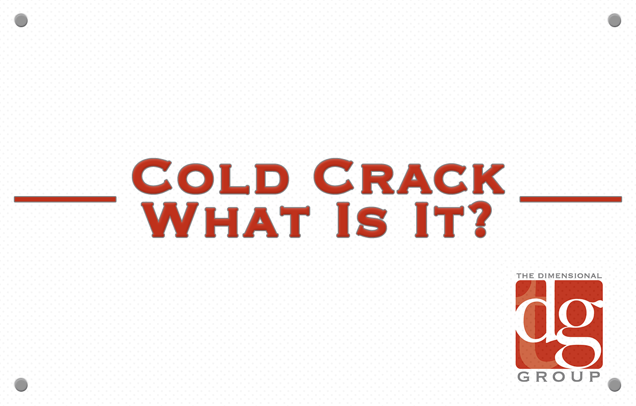 What is cold crack?