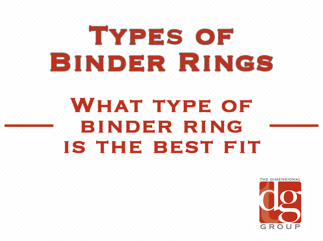 types of binder rings and how to measure